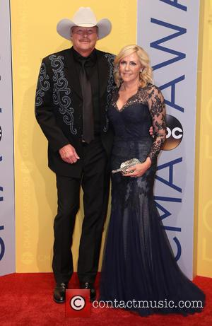 Alan Jackson seen arriving at the 50th annual CMA (Country Music Association) Awards held at Music City Center in Nashville,...