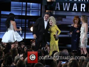 Vince Gill and Dolly Parton