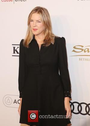 Diana Krall arriving at Elton John's 15th annual AIDS Foundation benefit held at Cipriani Wall Street, New York, United States...
