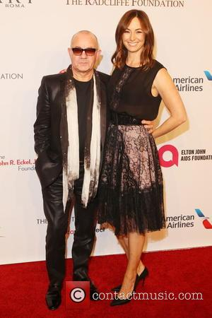 Bernie Taupin and Heather Taupin