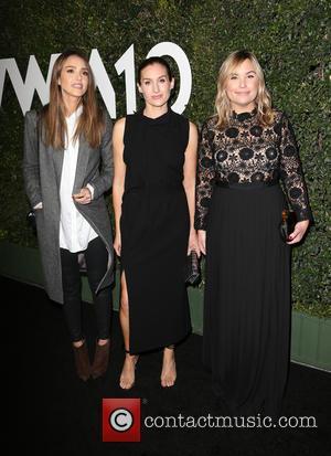 Jessica Alba, Katherine Power and Hillary Kerr