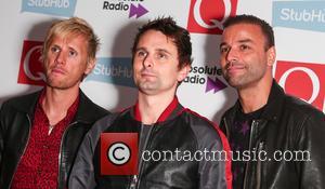 Muse, Matt Bellamy, Chris Wolstenholme and Dominic Howard