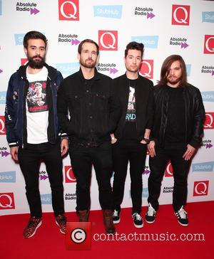 Bastille, Will Farquarson, Kyle Simmons, Dan Smith and Charlie Barnes