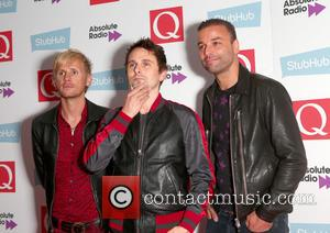 Dominic Howard, Chris Wolstenholme, Matt Bellamy and Muse