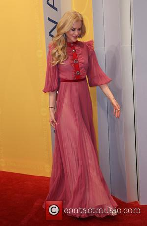 Nicole Kidman seen arriving at the 50th annual CMA (Country Music Association) Awards held at Music City Center in Nashville,...