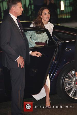 Catherine Duchess of Cambridge at the world premiere of 'A Street Cat Named Bob' held at the Curzon Mayfair. The...