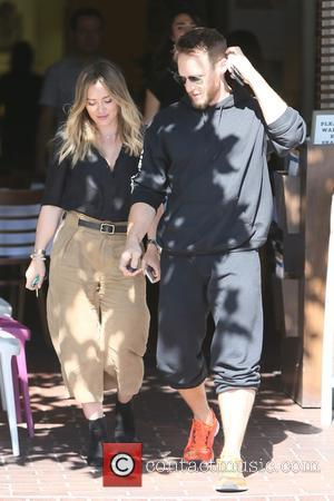 Hilary Duff and Jason Walsh