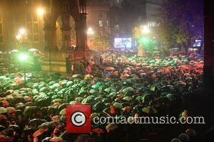 Manchester Christmas  Lights Switch On held at Manchester Town Hall - Manchester, United Kingdom - Friday 4th November 2016