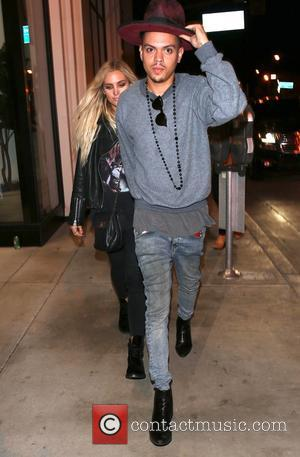 Ashlee Simpson and Even Ross