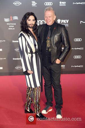 Conchita Wurst and Jean Paul Gaultier