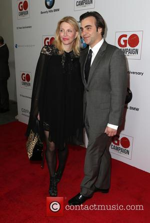Courtney Love and Nicholas Jarecki