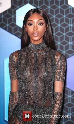 Jourdan Dunn arriving at the 2016 MTV Europe Music Awards (EMAs) held at the Ahoy Rotterdam, Netherlands - Sunday 6th...