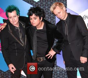 Green Day, Billie Joe Armstrong, Mike Dirnt, Tré Cool and Tre Cool