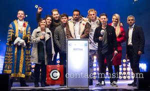 The Vamps, Aimee Vivian, Craig David, Will Manning, Louisa Johnson and Sadiq Khan