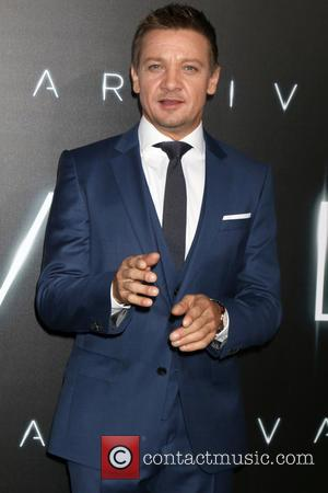 Jeremy Renner seen at the Film Premiere of Arrival - Los Angeles, California, United States - Monday 7th November 2016