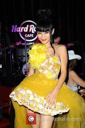 Bai Ling seen outside the Hard Rock Cafe in Hollywood, Los Angeles, California, United States - Wednesday 9th November 2016
