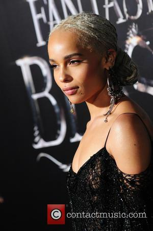 Zoe Kravitz attending the World Premiere of 'Fantastic Beasts and Where To Find Them', held at Alice Tully Hall in...