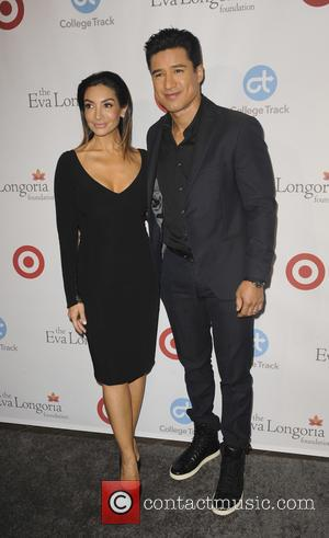 Mario Lopez seen alone and with Courtney Mazza at the Eva Longoria Foundation Dinner - Los Angeles, California, United States...