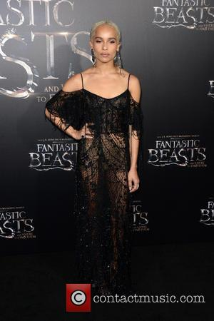 Zoe Kravitz attends the World Premiere of 'Fantastic Beasts and Where To Find Them', held at Alice Tully Hall in...