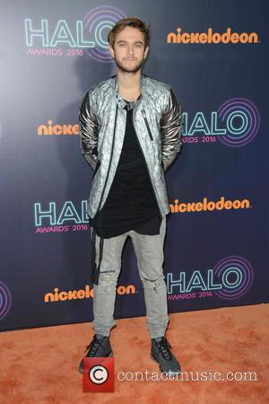 Zedd seen on the red carpet at the 2016 Nickelodeon Halo Awards held at Pier 36, New York, United States...