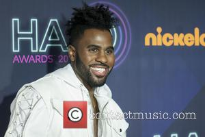 Jason Derulo seen on the red carpet at the 2016 Nickelodeon Halo Awards held at Pier 36, New York, United...