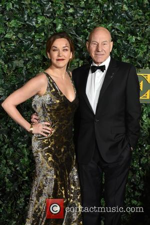 Sir Patrick Stewart, Lady Stewart and Sunny Ozell