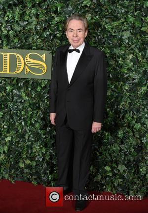 Andrew Lloyd Webber seen arriving at the 2016 Evening Standard Theatre Awards held at the Old Vic -  London,...