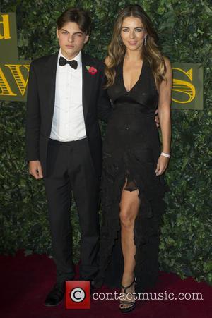 Damian Hurley and Elizabeth Hurley