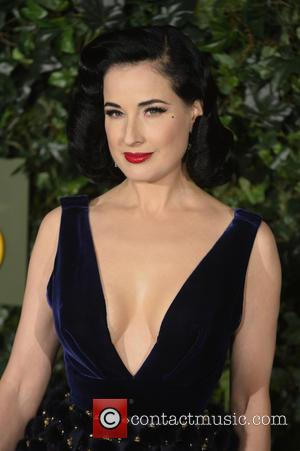 Dita Von Teese attending the 2016 London Evening Standard Theatre Awards held at the Old Vic Theatre - London, United...