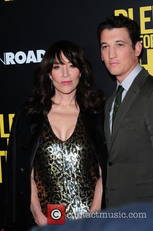 Katey Sagal and Miles Teller