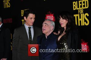 Miles Teller, Martin Scorsese and Katey Sagal