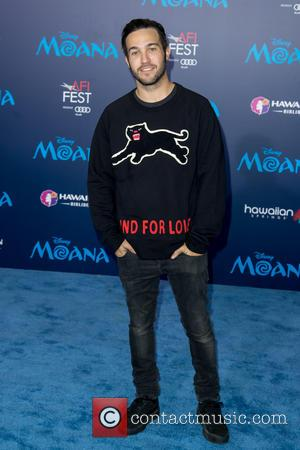 Fall Out Boy's Pete Wentz seen attending the premiere of Disney's 'Moana,' during AFI FEST 2016 presented by Audi, held...