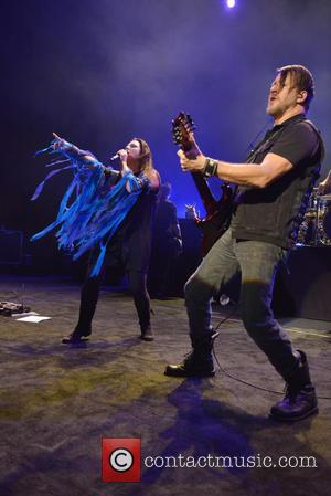 Amy Lee and Troy Mclawhorn
