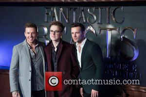 Danny Jones, Tom Fletcher, Harry Judd and Mcfly