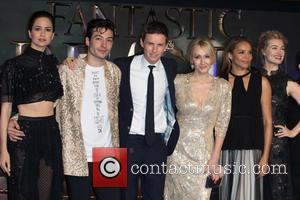 J.k. Rowling, Ezra Miller, Eddie Redmayne, Alison Sudol, Carmen Ejogo, Katherine Waterston and Ben Fogle