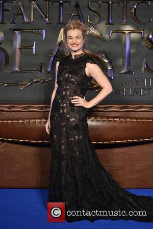 Alison Sudol seen at the UK Premiere of Fantastic Beasts And Where To Find Them held at Cineworld Leicester Square,...