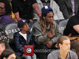 Lil Wayne and Son