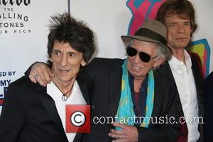 Mick Jagger, Keith Richards and Ronnie Wood