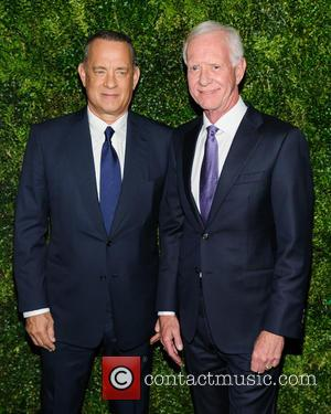 Tom Hanks and Chesley Sullenberger