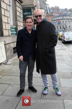 Chris Evans and Rob Brydon