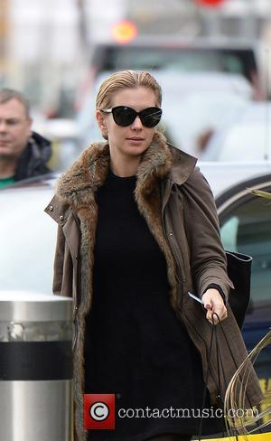 Fresh-faced  Rachel Riley arrives make-up free at the Countdown Studios, Media City UK, Manchester, United Kingdom - Wednesday 16th...