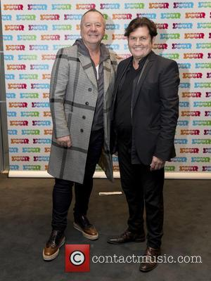 Jim Kerr, Charile Burchill and Simple Minds