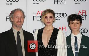 Mike Mills, Greta Gerwig and Lucas Jade Zumann