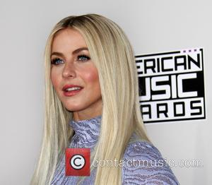 Julianne Hough arrives at the 2016 American Music Awards held at the Microsoft Theatre, Los Angeles, California, United States -...