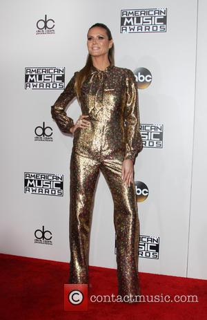 Heidi Klum arrives at the 2016 American Music Awards held at the Microsoft Theatre, Los Angeles, California, United States -...