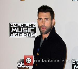 Adam Levine of Maroon 5 in the press room at the 2016 American Music Awards - Los Angeles, California, United...