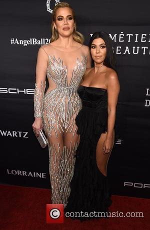 Khloe Kardashian and Kourtney Kardashian