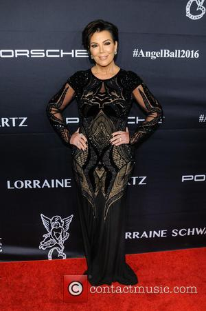 Kris Jenner seen at the 2016 Gabrielle's Angel Ball held at Cipriani Wall St., New York, United States - Tuesday...
