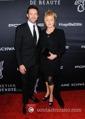 Hugh Jackman and Deborah Lee Furness seen at the 2016 Gabrielle's Angel Ball held at Cipriani Wall St., New York,...