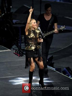 Carrie Underwood performs live in Las Vegas at the T-Mobile Arena - Las Vegas, Nevada, United States - Saturday 26th...